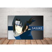 Hiasan Dinding Boruto / Wall Decor Anime/ Poster kayu Sasuke 009