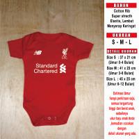 Baju Bola Bayi / Baby Romper Bayi / Baby Jumper Bayi Liverpool Home1