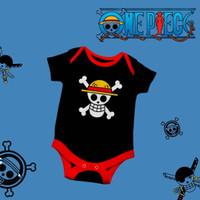 Baju bayi Usia 0-12 bulan Jumper Karakter One piece Murah Lucu