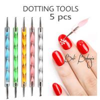 Dotting tools nail art isi 5 pcs