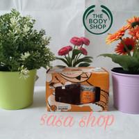 The body shop gift set indian night jasmine edt + body lotion 100% ORI
