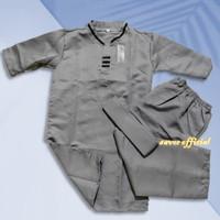 Stelan Baju Muslim (Baju Celana Peci) Anak Laki Laki - Baju Koko Anak