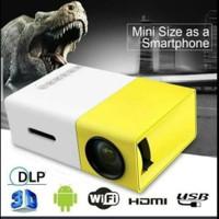 Proyektor LED super mini YG300 home theater projektor