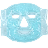 Cold Gel Face Mask with Gel Beads Ice Face Mask for Hot Cold Therapy