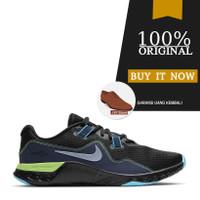 Sepatu Training Original Nike Renew Retaliation TR 2 - Black/Blue Fury