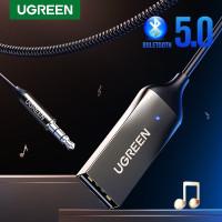 Ugreen Adapter Bluetooth Aux Jack Receiver Bluetooth Wireless Music