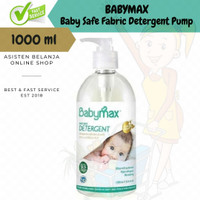 BABYMAX Baby Safe Detergent Bottle Pump 1000 ml / 1 L 8x Concentrate