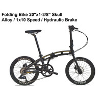 "Sepeda Lipat Pacific SKULL 3.0 20"" FREE HELM SYTE (FOLDING BIKE)"