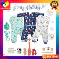 LIBBY BABY 3 SET SETELAN PANJANG MURAH BAJU TIDUR LENGAN PANJANG BAYI - 3-6 Bulan