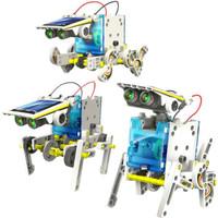 Mainan Robot Tenaga Matahari 13 Macam Perubahan - Mainan Edukasi Anak