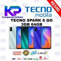 TECNO SPARK 6 GO 3GB 64GB GARANSI RESMI