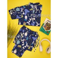 Piyama Rayon Premium - Anak - Nyaman Clothes
