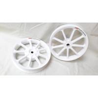 Velg Racing Tapak Lebar Power Sun Vario 125 / 150 Putih