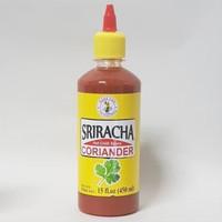 NANG FAH Sriracha hot Chilli sauce Coriander 450ml