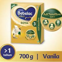 bebelac gold 3 soya vanilla 700gr
