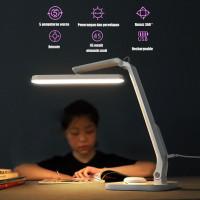 Triple W Folding LED USB Desk Lamp Remote Lampu Meja Baca Kerja Lipat