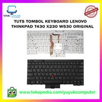 TUTS Tombol Keyboard Lenovo Thinkpad T430 X230 W530 Original