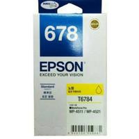 Tinta Epson 678 Yellow = Epson WORKFORCE PRO WP-4011,WP-4511,WP-4521
