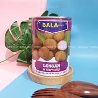 BALA Brand Longan Kaleng 565gr / Buah Longans Lengkeng Kelengkeng