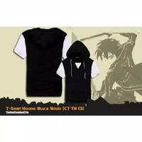 Kaos Polo Pria Anime SAO T-Shirt Hodie Kirito Style0- CT TH 13