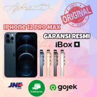 iphone 12 Pro Max 128gb / 256gb / 512gb Garansi Resmi Ibox - 128GB, SILVER