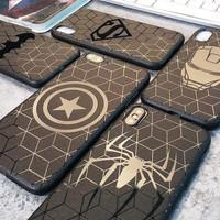 Marvel Black Case For Samsung Galaxy J2 Core J7 Core J5 Prime On 5 On7