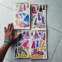 Paper Doll bongkar pasang BP kertas Mainan Anak Jadul