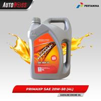 Pertamina - Prima XP 20W-50 20W50 Oli Mobil Kemasan 4 Liter