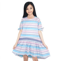 KIDS ICON - Dress Anak Perempuan CURLY 04-14 Tahun - LYD00700200 - 6-7 tahun