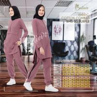 Setelan Baju Olahraga Wanita Muslim Believe BMS 30 / Baju Senam