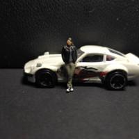 miniatur diorama dan diecast 1/64 figur Han fast & furious