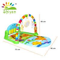 baby gym playmat music bayi playmat matras mainan piano lucu - SY-9611