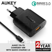 AUKEY PA-T9 Travel Wall Charger Fast Charging Quick Charger QC 3.0