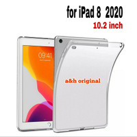 Apple iPad 8 2020 | 10.2 inch - Silicone Soft Case Back Cover Glossy