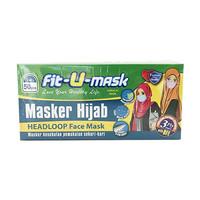 Masker Fit-U-Mask Surgical Hijab 50 pcs