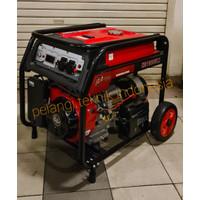 Genset bensin 7000 watt 7500 watt 100% tembaga KG 10000 LX lengkap AVR