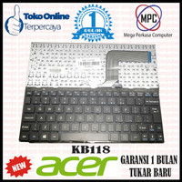 Keyboard Laptop Notebook Acer One 10 10 - S100 10 - S100X Series