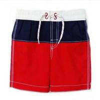 Celana Renang Anak Laki - Laki BG Navy Red