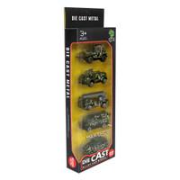 Mainan Edukasi Anak Diecast Metal Mobil Truk Army Set Alloy Car CD 051