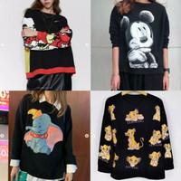 Dumbo & Mickey Sweatshirt - Atasan Import Wanita Whitelabel