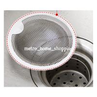 Saringan wastafel stainless steel Saringan bak cuci- MHS106