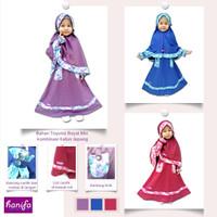 Baju Muslim Anak Perempuan Bahan Katun Toyobo Lembut Adem