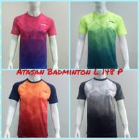 Baju Badminton ATASAN Bulutangkis Dewasa L.148 P - Pink, M