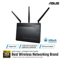 ASUS RT-AC68U AC1900 Mbps Dual-Band Wi-Fi Gigabit Router