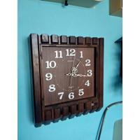 Unik jam dinding SEIKO jadul antik vintage jam transistor Limited