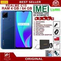 REALME C15 4 64 GARANSI RESMI REALME INDONESIA