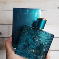 Parfum Ori Lengkap Box Versace Eros Men 100ml For Men