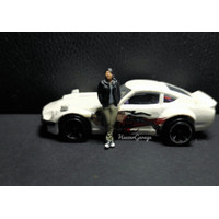 Diecast Diorama Han Fast and Furious Action figure 1/64 - 3d resin