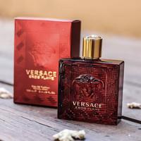 Parfum original eropa Versace Eros Flame for men EDP 100ml ( BOX )