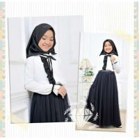 Gamis muslim anak thalia baju anak umur 9 10 11 12 tahun baju hijab